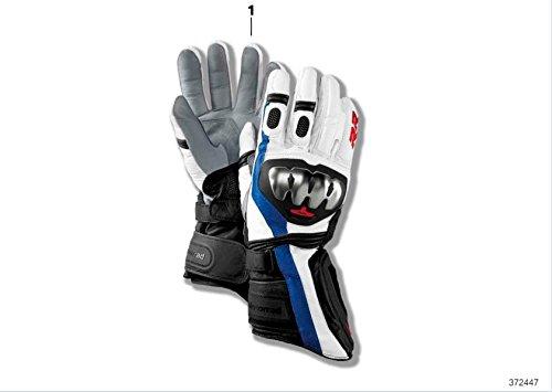 Handschuhe Doubler Motorrad BMW Motorrad Leder Farbe schwarz/weiß 11-11,5