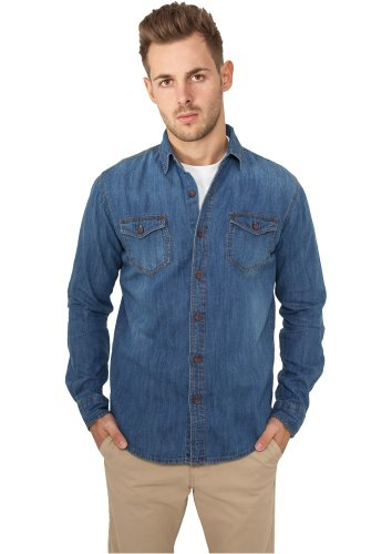 Urban Classics Denim T-Shirt - Regular Fit lightblue