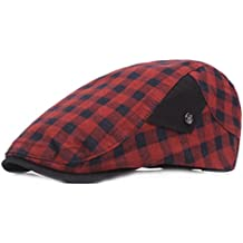ba21ec3d168de WY-scarf Gorra de Gorra Sombrero de Gorra de adelante de la Gorra de Cuadros