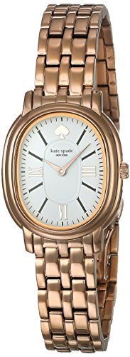kate spade New York Women's 'Staten' Quartz Stainless Steel Casual Watch, Color:Pink (Model: KSW1430)
