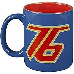JINX Overwatch Mug Soldier 76 Logo 325ml en céramique Bleu Rouge