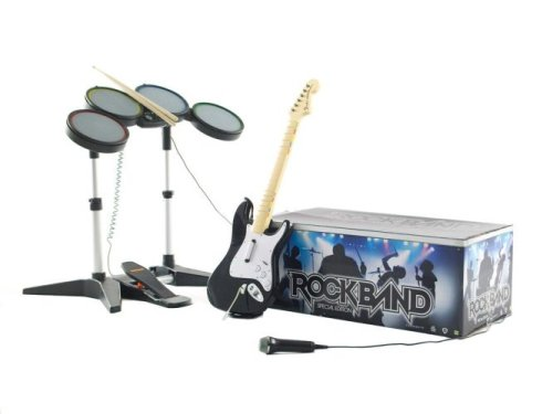 Rock Band: Hardware Bundle - Rock Ps2 Band