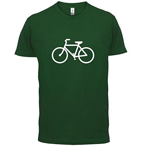 Bicycle - Herren T-Shirt - 13 Farben Flaschengrün