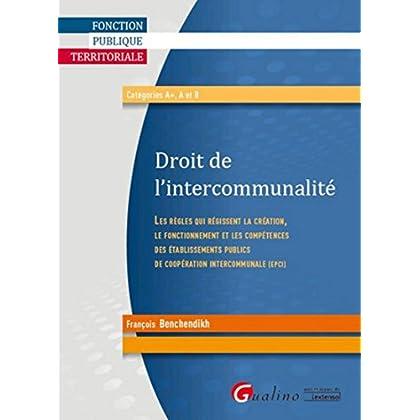 Droit de l'intercommunalité