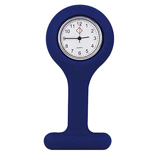 trixes-nurses-fob-watch-navy-blue-gel-silicone-plastic-pocket-brooch