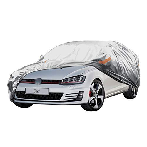 Autoabdeckung Kompatibel mit Volkswagen Golf 7 Car Cover Schutzhülle Dicker Oxford-Stoff Wind und Regen und Kratzfest Warme Autokleidung - Mailbox Der Die Besten