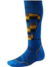 Smartwool Herren Socken PHD Ski Medium Muster Socken–Bright Blau