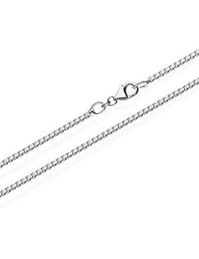 NKlaus echte 925er Sterlingsilber Venezianerkette Silberkette 1,30mm breit