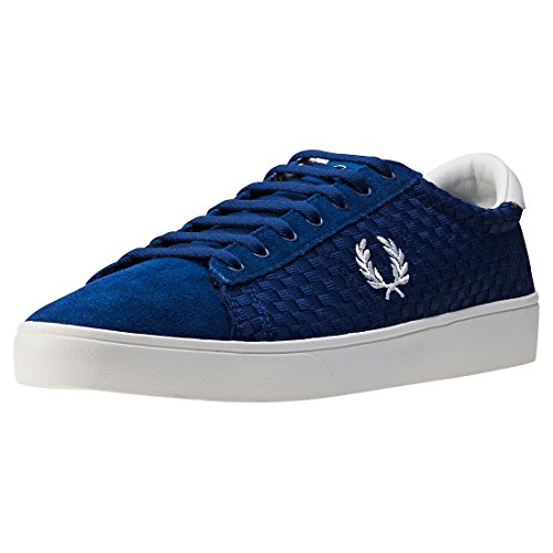 fred-perry-spencer-woven-checkerboard-uomo-formatori-navy-7-uk