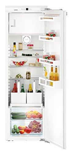 IKF 3514 Comfort integrierter Kühlschrank 306L A++ weiß - Kombi-Kühlschrank (integriert, weiß, rechts, 115°, Tür, Knöpfe)