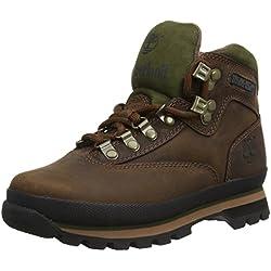 Timberland Euro Hiker FTP_Euro Hiker Leather, Damen Trekking- & Wanderstiefel, Braun (BROWN), 38 EU (5 Damen UK)