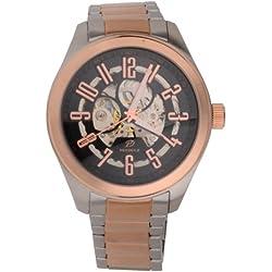 Pendule Men's Automatic Skeleton Watch Multisize
