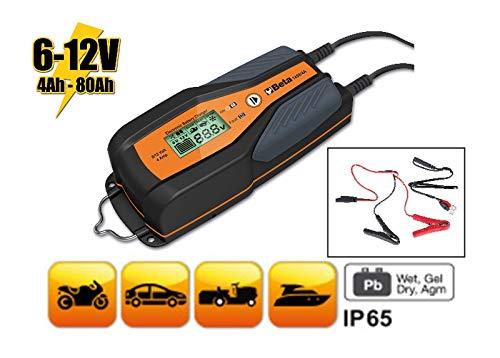 BETA 1498/4A Caricabatterie elettronico 6-12v auto-moto
