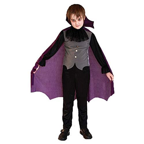 Kostüm Q Tipp - Asdsda Halloween Kinderkleidung, Vampir Kostüme, Fledermaus Kostüme, Horror Grim Roben, Little Prince Kostüme, Geeignet Für Größe 110-140cm,Q,XL