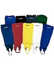 CranBarry Deluxe Field Hockey Shin Guards - White Adult by CranBarry