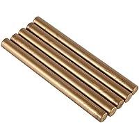 Powerlift Cera de lacre - 5pcs Barras de Cera Sello Sello for sellar la Boda de cumpleaños del Vintage Tarjetas de invitación (Color : Bronze)