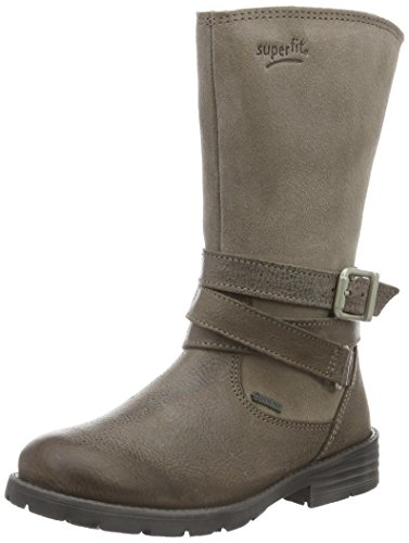 Superfit Heel, Bottes hautes avec doublure froide fille Marron - Braun (Truffle 33)