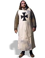 Sobrevesta Teutónica, Sobrevesta medieval para Caballeros, Ropa medieval, Vestimenta de Cruzado, Recreación histórica, Rol en vivo, Traje medieval