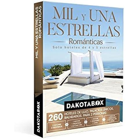 DAKOTABOX - Caja Regalo - MIL Y UNA ESTRELLAS ROMÁNTICAS - 260 Hoteles únicos de 4 y 5*: hoteles, balnearios, palacios,