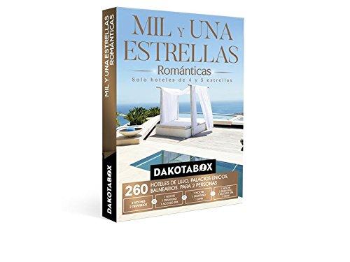 DAKOTABOX – Caja Regalo – MIL Y UNA ESTRELLAS ROMÁNTICAS – 260 Hoteles únicos de 4 y 5*: hoteles, balnearios, palacios, conventos…