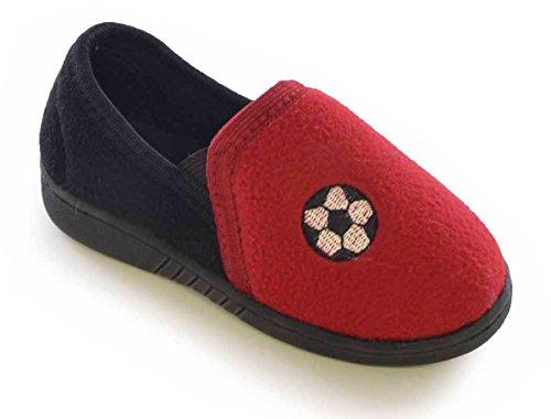 Socks Uwear, Kompensiert Sandale Jungen Rot