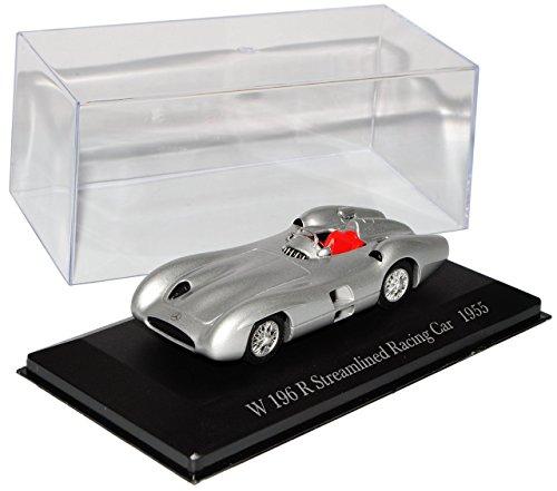 Mercedes-Benz W 196 R Stromlinie Rennwagen Silber 1955 Inkl Zeitschrift Nr 70 1/43 Ixo Modell Auto