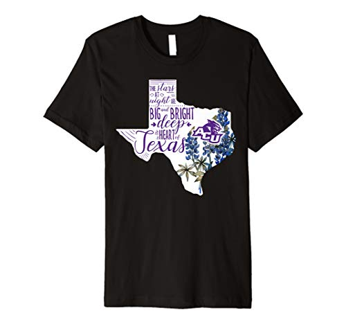 Abilene Christian Wildcats Flower Texas T-Shirt - Apparel