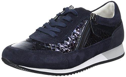Gabor Damen Comfort Sneakers Blau (ocean 46)