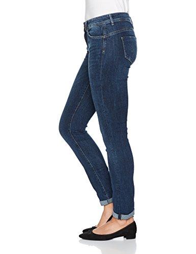 Only, Jeans Slim Donna Blu (Dark Blue Denim)