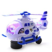 Mini Aircraft Model,Ewendy LED Flash Light Sound Toy Electric Helicopter Electric Aircraft Boy Remote Control Airplane