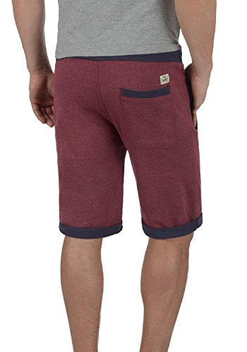 BLEND Sonny Herren Sweat-Shorts kurze Hose Sport-Shorts aus hochwertiger Baumwollmischung Zinfandel (73006)