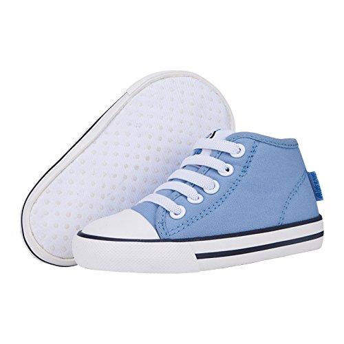 MINIRAH! Kleinkind Schuhe Infant Baby Schuhe Kinderschuhe Lauflernschuhe Canvas Leinwand Sneaker Anti-Skid Soft Shoes Low-Top High-Top für Jungen Mädchen