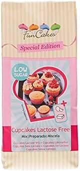 Preparado Cupcakes Sin Lactosa y Bajo Azúcar Funcake 500 ...
