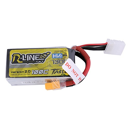 Tattu R-Line 1300mAh 100C 4S1P 15.2V For r Nemesis 240 Skylark M4-FPV250, Mini Shredder 200 Etc