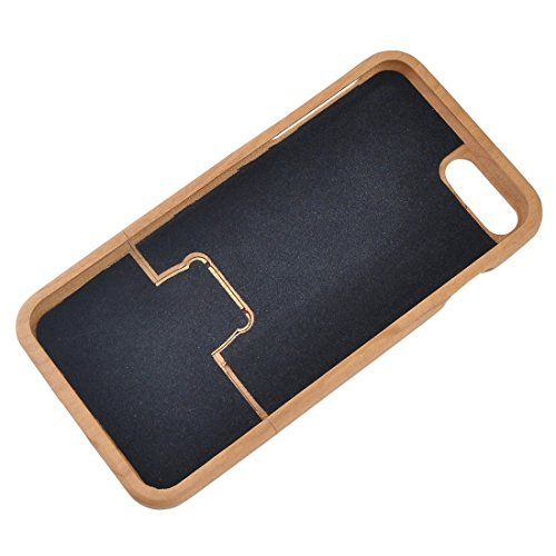 YAN Für iPhone 7 Plus Vertical Flip Sapele Wooden Schutzmaßnahmen zurück Fall ( SKU : IP7P2130C ) IP7P2130B
