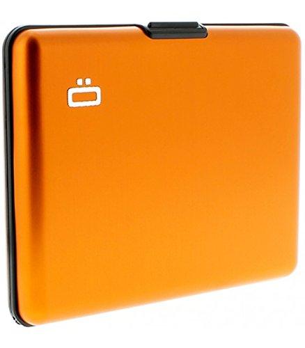 Portefeuille Big Stockholm Orange Aluminium anodisé Ögon designs BS-Orange