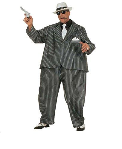 KOSTÜM - 30er JAHRE GANGSTER - Einheitsgröße, One Size, Mafiosi 20er Jahre Al Capone Amerika (Für Männer Gangster Kostüme)