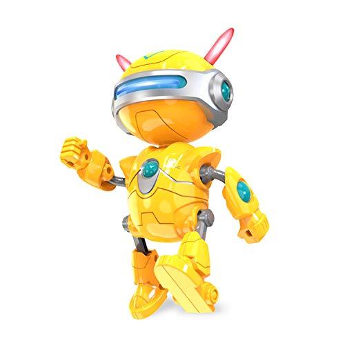 DEERC Intelligenter Roboter für Kinder Elektronisches Spielzeug für Jungen Mädchen, Lernspielzeug Robotik mit Nacherzählungsfunktion, Berührungsreaktion, Musik, LED Augen, Geschenk für Kleinkinder