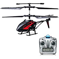 RC Helicopter, Remote Control Helicopter with Gyro and LED Light 3.5-Channel Mini Helicopter Toy with Remote Control Indoor for Kids and Adults Beginners Gift