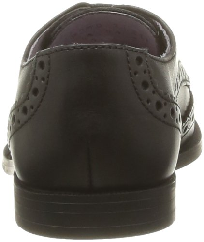 Start Rite Burford, Chaussures de ville fille Noir (Black Leather)