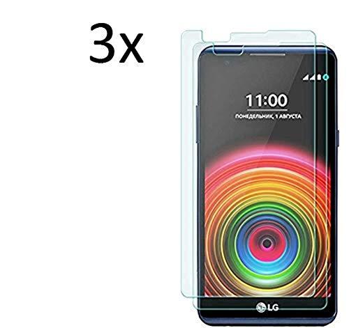 Cardana | 3X bruchsicheres Panzerglas für LG X Screen | Schutzfolie aus 9H Echt Glas