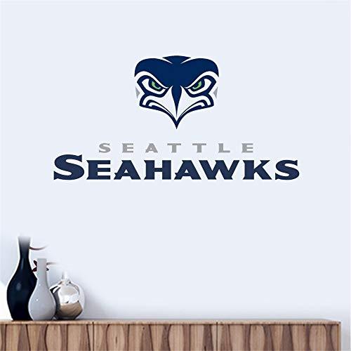Wandtattoo Seattle Seahawks # 11 Team Logo Wandaufkleber Vinyl Wandaufklebe