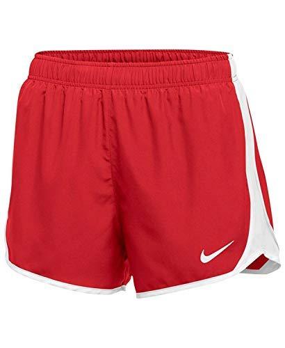 Nike W Nk Dry Tempo Short - Kurze Hosen für Damen, Farbe Rot, Größe M -
