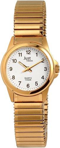 Just Watches 48-S4307-GD - Orologio da polso Donna, Acciaio inox, colore: Oro