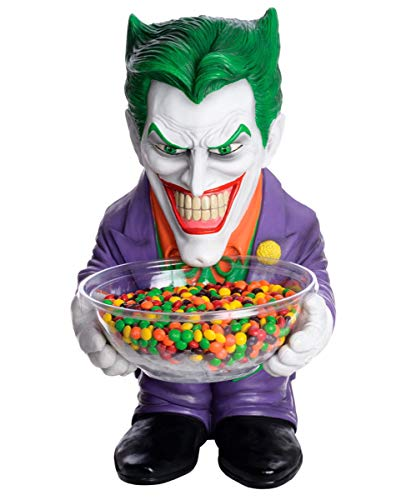 Joker Figur mit Schale (Halloween Süßigkeiten Schüssel-shop)