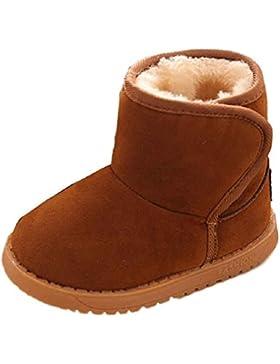 OverDose Unisex-Baby Winter Baby Kind Art Baumwoll Stiefel warme weiche Gummisohle Schnee Aufladungen mit Baumwolle