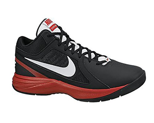 Nike Men's The Overplay VIII Black,Pure Platinum shoes