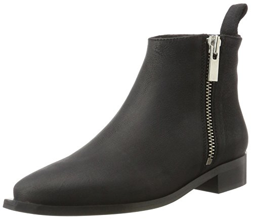 Shoe Biz Damen Facula Stiefel, Schwarz (CB Wash Black), 38 EU (Pointy Bootie Toe)