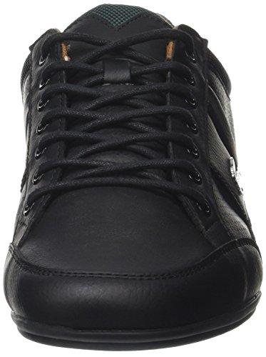 Lacoste Chaymon 317 1, Baskets Basses Homme Noir (Blk/Tan)