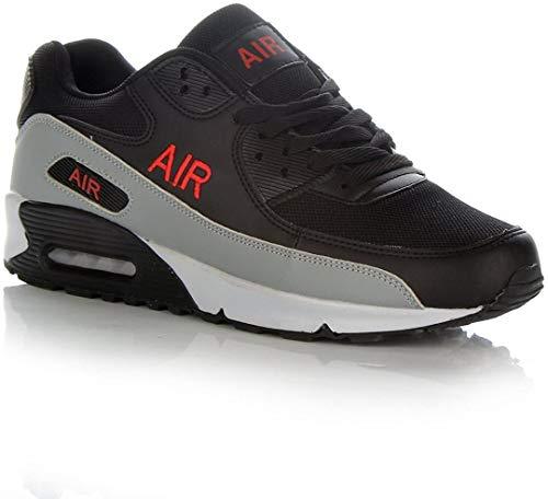 Zapatillas de deporte para hombre, con cámara de aire y absorción de impactos, color, talla 45 EU
